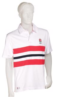 England Rugby Striped Polo