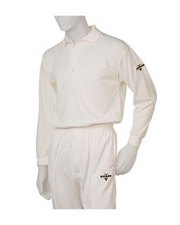 Dukes Heavyweight Long Sleeve Cricket Sh