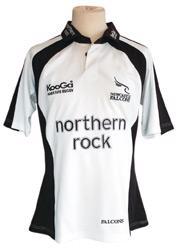 KooGa Newcastle Falcons Change Jersey