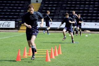 Precision Training Agility Hurdle Cone S