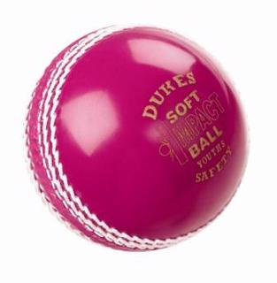 Dukes PINK Soft Impact Safety Cricket