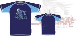 Samurai Rugby Running Man T-shirt