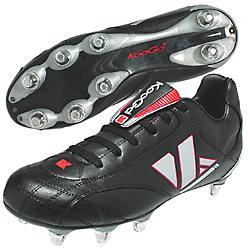 KooGa Nyambu mid hard toe rugby boots