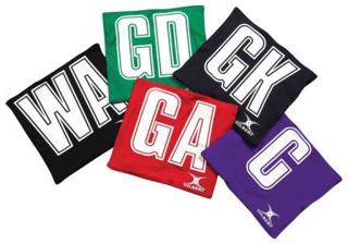 Gilbert Netball Patch Bibs