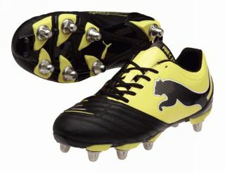Puma Powercat 3.12 H8 Black/Yellow Rugby