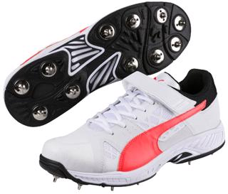 Puma evoSPEED Cricket Bowling Shoe CORAL