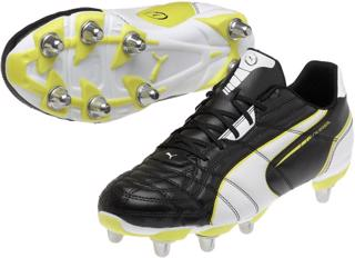 Puma Universal H8 Rugby Boots BLACK