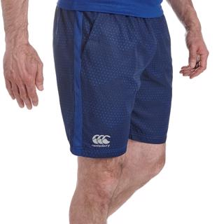 Canterbury Graphic Gym Shorts BLUE