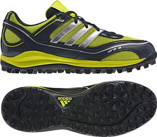 adidas SRS 3 Hockey Shoes, ONIX/LIME