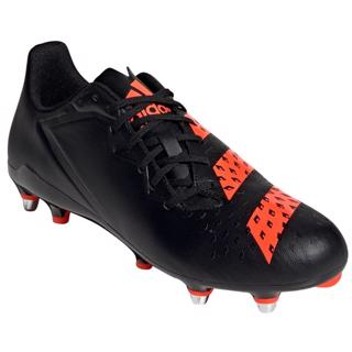 adidas MALICE SG Rugby Boots BLACK/RED