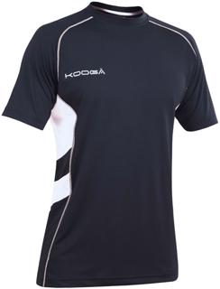 Kooga Elite Tech Tee BLACK/WHITE JUNIOR%