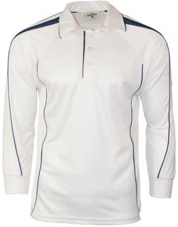 Dukes Hypertec LONG SLEEVE Cricket Shirt
