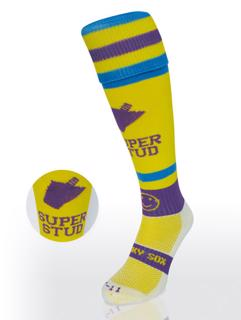 Wacky Sox, Super Stud, Yellow