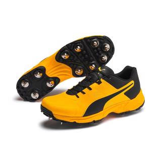 Puma 19.1 Cricket Spike Shoe ORANGE/BLAC