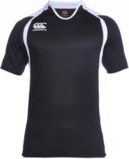 Canterbury Challenge Rugby Shirt, BLACK/