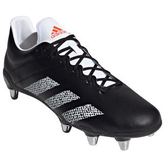 adidas KAKARI SG Rugby Boots BLACK/WHITE