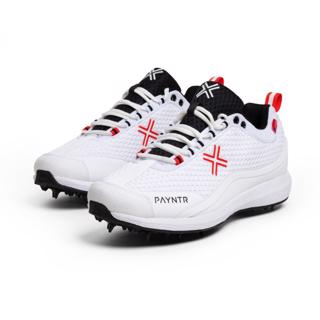 Pantyr Bodyline 124 Spike Cricket Shoes%