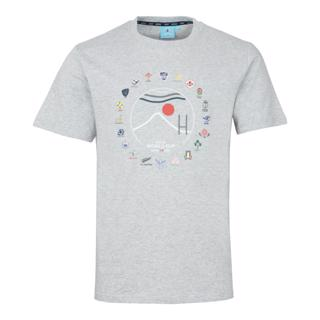 RWC 2019 20 Nations Fuji Tee GREY MA