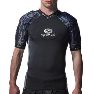 Optimum Razor Rugby Body Armour BLACK/SI