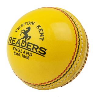 Readers Leather INDOOR Cricket Ball