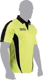 Kooga Teamwear Match Rugby Shirt Bright