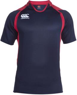 Canterbury Challenge Rugby Shirt, NAVY/R