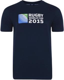 Canterbury RWC 2015 Logo Tee, NAVY