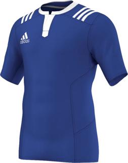 adidas 3 Stripes Fitted Rugby Jersey R