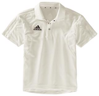 Adidas Short Sleeve Cricket Shirt JUNIOR
