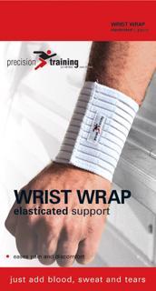 Precision Training Elasticated Wrist Wrap