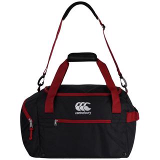 Canterbury Medium Sports Bag BLACK/RED D