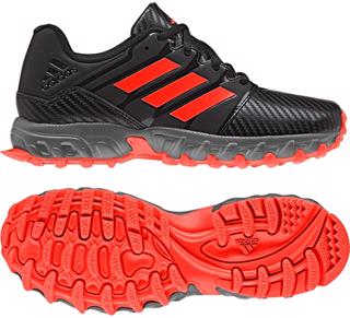 adidas Hockey JUNIOR Shoes BLACK/RED