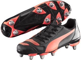 Puma EvoPOWER 4.2 H8 Rugby Boots BLACK