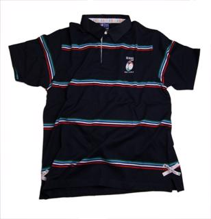 Six Nations SS Striped Rugby Jersey