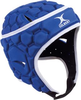 Gilbert Falcon 200 Rugby Headguard BLUE%