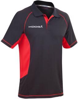 Kooga Elite Tech Polo BLACK/RED