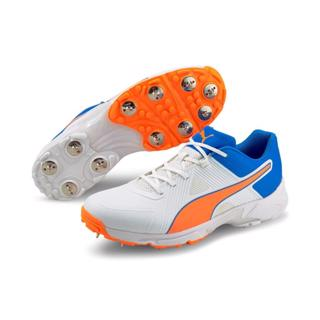 Puma 19.1 Cricket Spike Shoe BLUE/ORANGE
