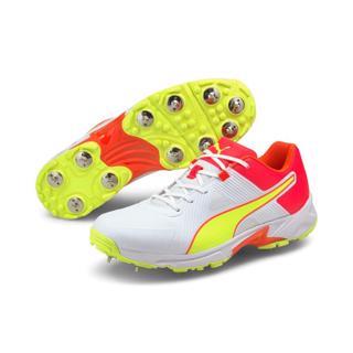 Puma 19.1 Cricket Spike Shoe WHITE/RED
