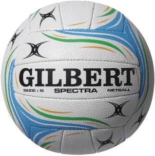 Gilbert SPECTRA Netball, WHITE/BLUE
