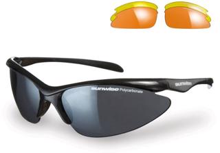 Sunwise Thirst Black Sports Sunglasses