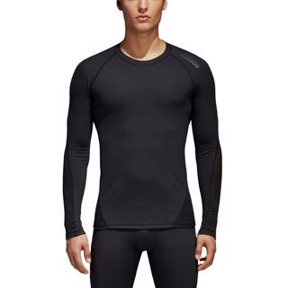 adidas Alphaskin Sport LS Tee BLACK