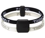 Trion:Z Dual Loop Bracelet BLACK/WHITE
