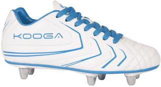 Kooga Warrior 2 Rugby Boots JUNIOR WHI