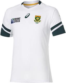 Asics RWC2015 Springboks Away Rugby Shir