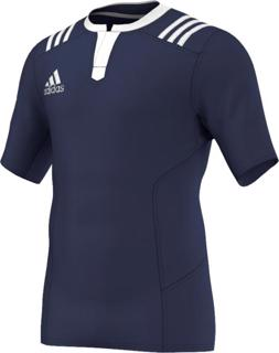 adidas 3 Stripes Fitted Rugby Jersey N