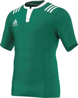 adidas 3 Stripes Fitted Rugby Jersey G