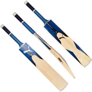 Puma evo 4.19Y Cricket Bat AZURE, JU