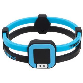 Trion:Z DUO-LOOP Bracelet, BLACK/BLUE