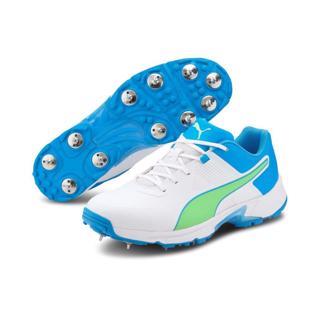 Puma 19.1 Cricket Spike Shoe WHITE/BLUE