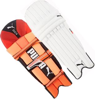 Puma Evo 4 TW RED Batting Pads JUNIO